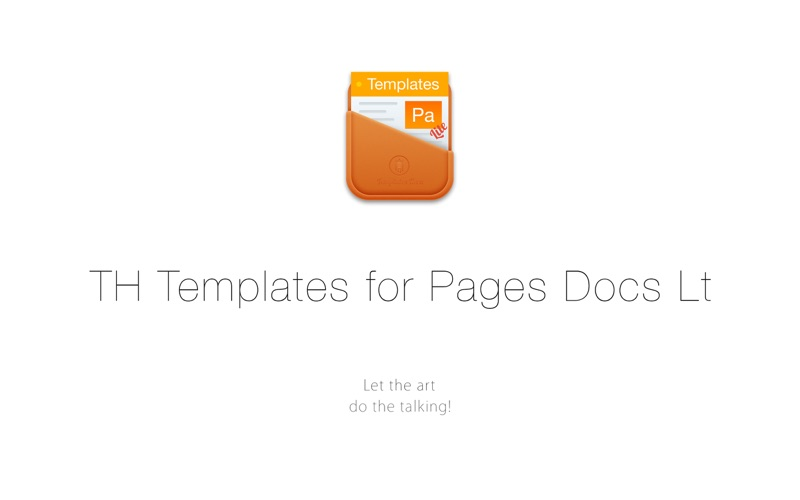 Document Templates for Pages Screenshot