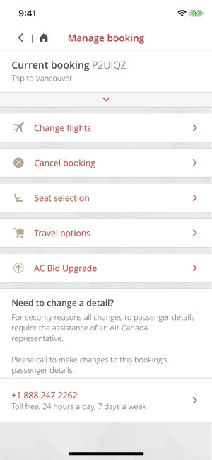 Air canada on the app store air canada on the app store solutioingenieria Gallery