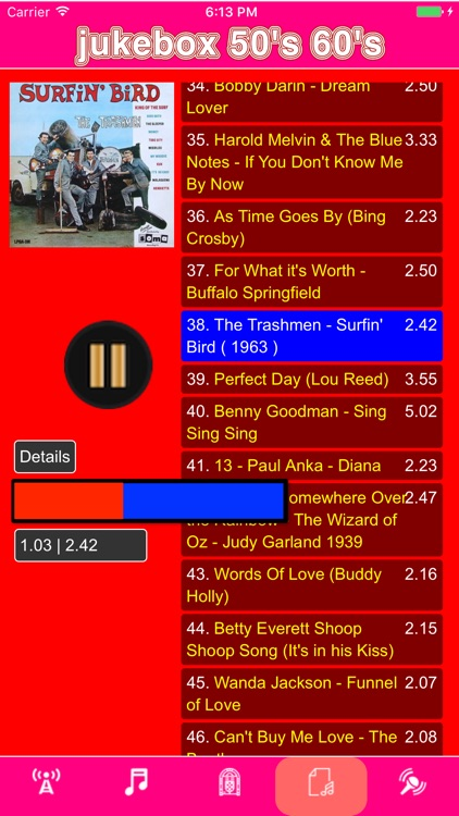 jukebox 50's & 60's screenshot-0