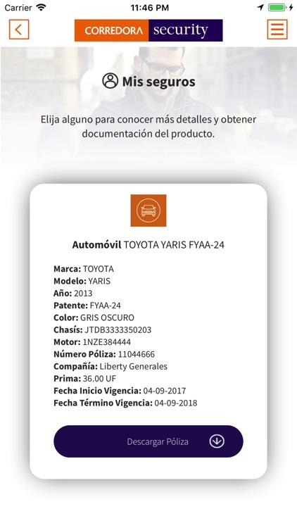 Corredora Security screenshot-4