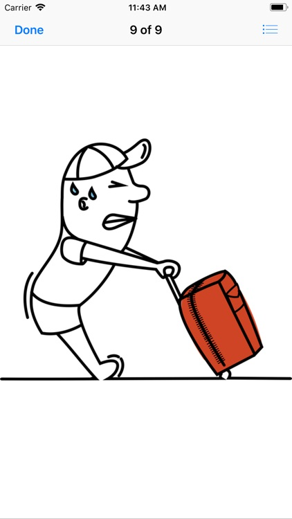 Luggage Stickers screenshot-8