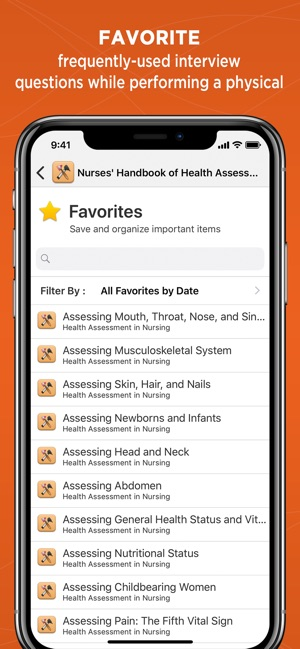 Weber: Nurse Health Assessment on the App Store