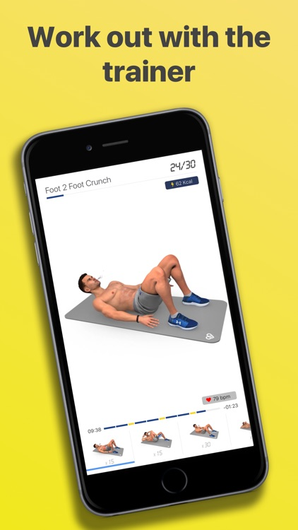 Abs Workout - Daily Fitness screenshot-3