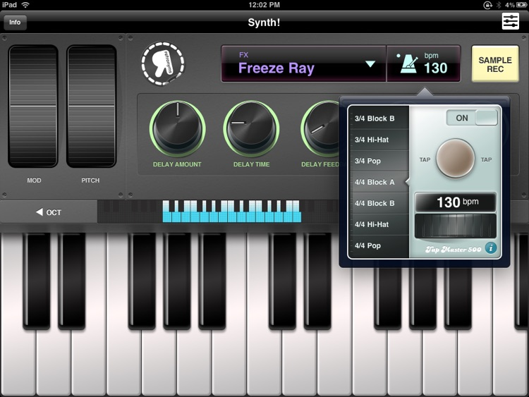 Synth screenshot-1