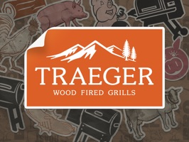 Traeger Grills Stickers