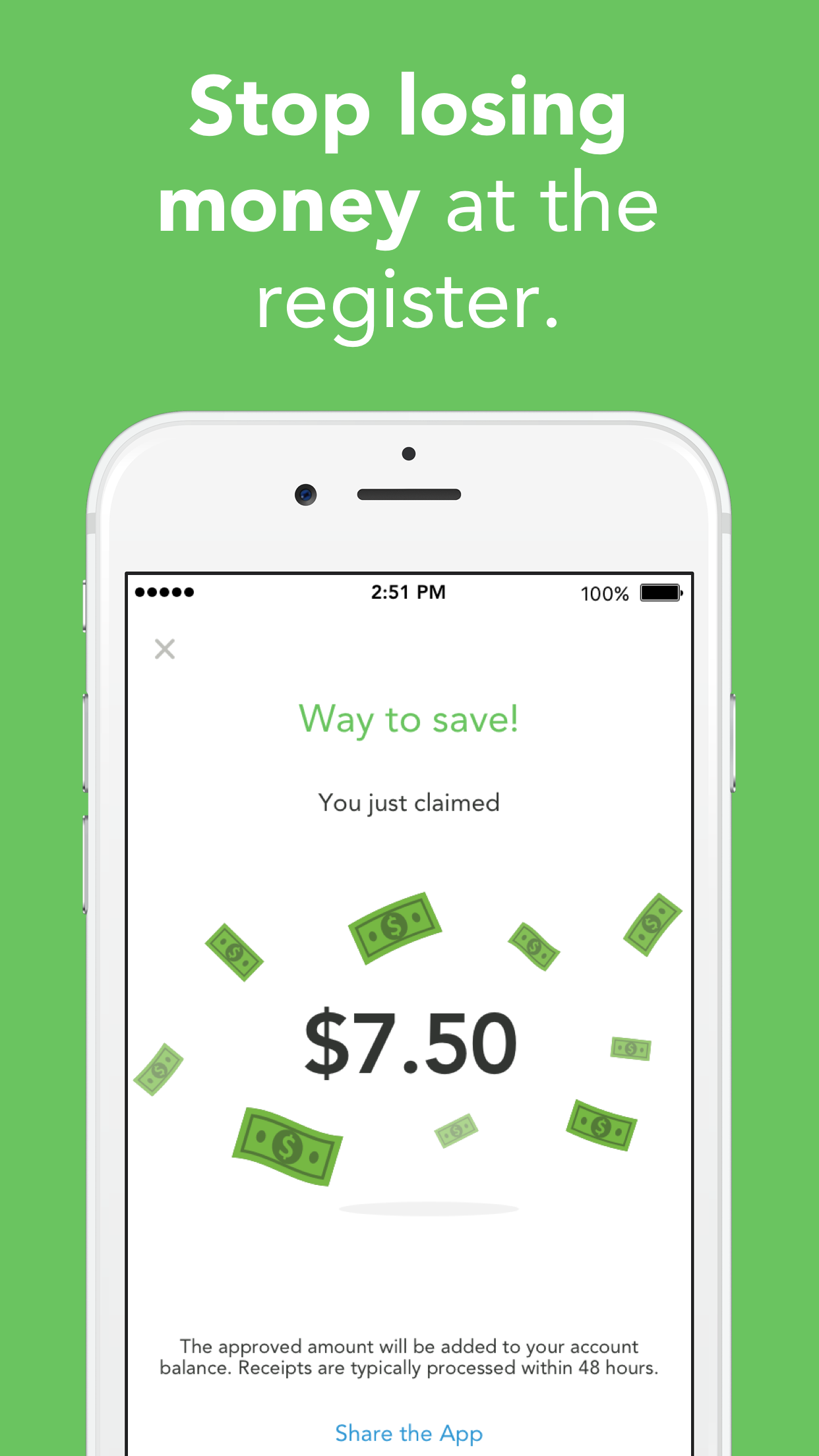 Checkout 51: Cash Back Savings Screenshot