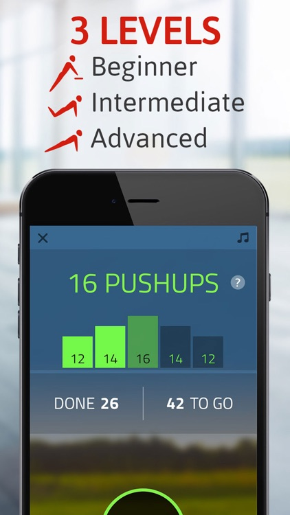 Push ups: 100 pushups trainer