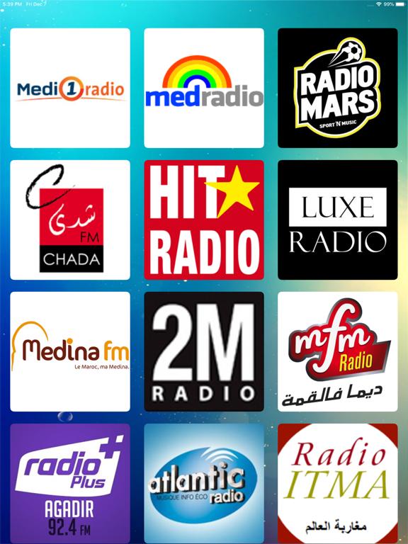 Maroc Radios - إذاعات مغربية-ipad-0