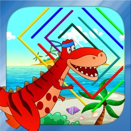 Dino Maze: Dinosaur mazes game for kids & toddlers