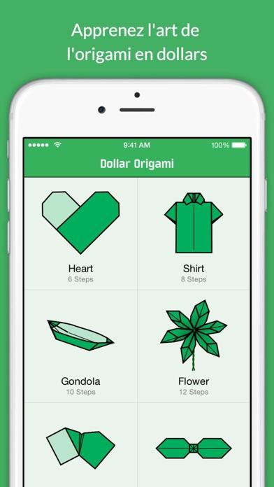 Screenshot #2 pour Origami en dollar