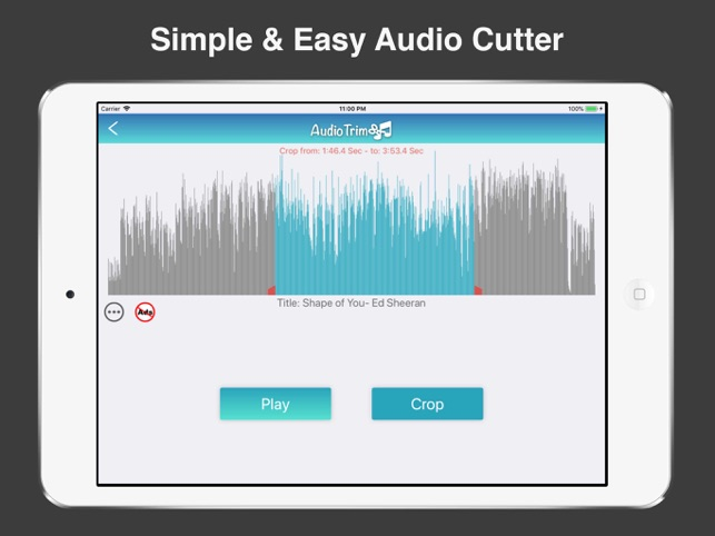 Easy Audio Cutter & Trimmer on the App Store