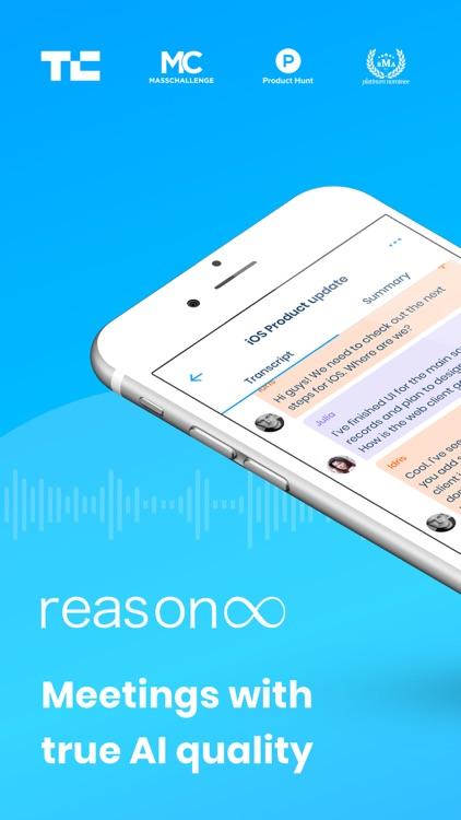 Reason8 Auto Voice Note Taking