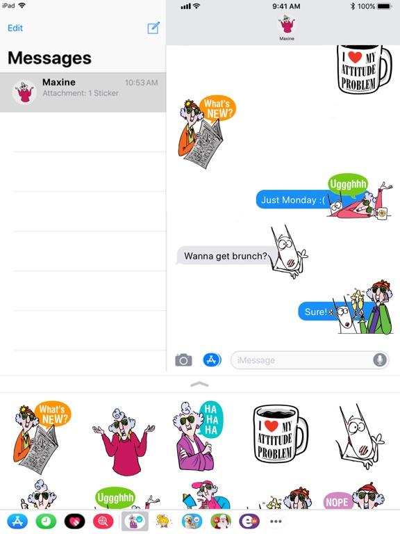 Maxine Stickers screenshot 7