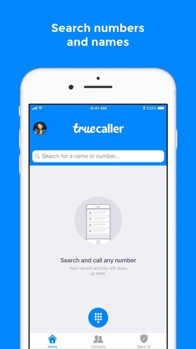 Truecaller app image