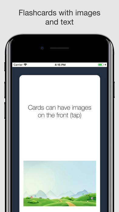 My Flashcards screenshot two