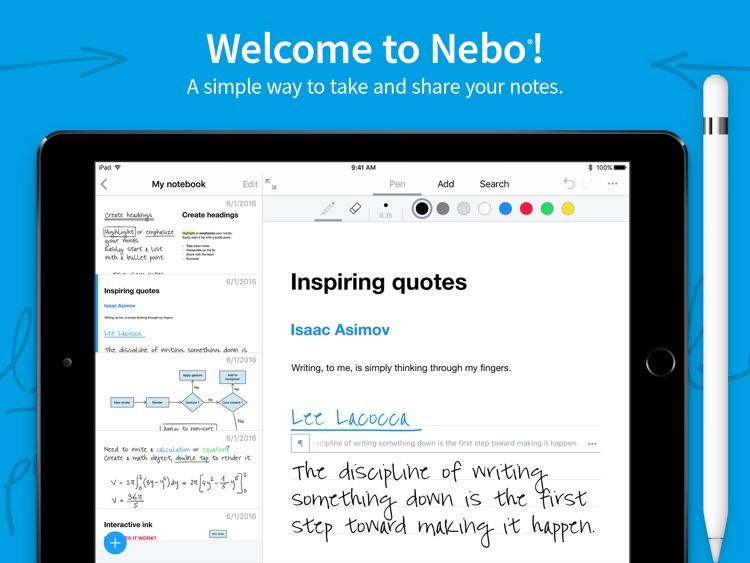 MyScript Nebo screenshot-0
