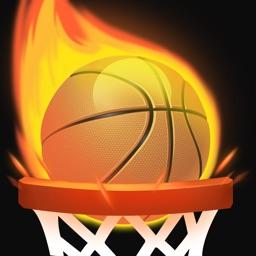 Tap Shots - dunk shot on fire