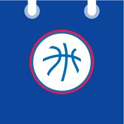 Basketball for iPhone Calendar