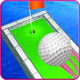 Cartoon Mini Golf Retro