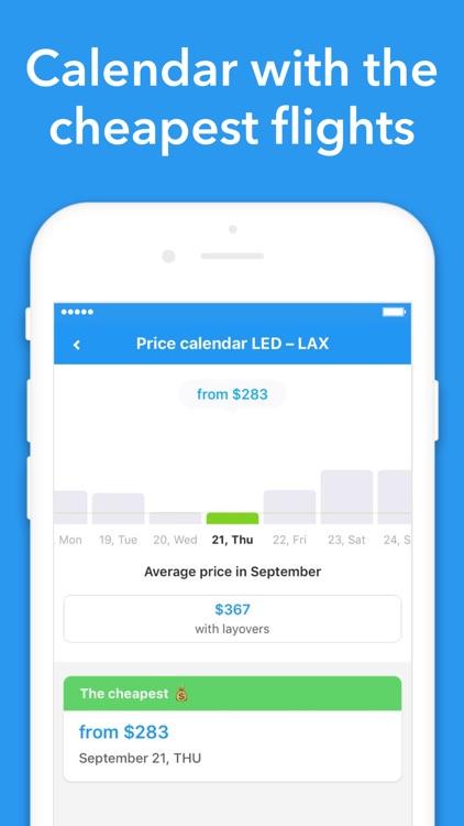 Cheap flights — Jetradar screenshot-4