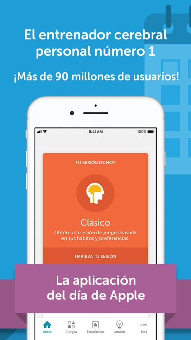 Screenshot for Lumosity - Entrenador Cerebral in Ecuador App Store