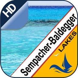 Sempach & Baldegg Lake GPS offline nautical charts