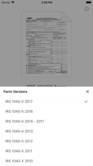 1040x Form On The App Store