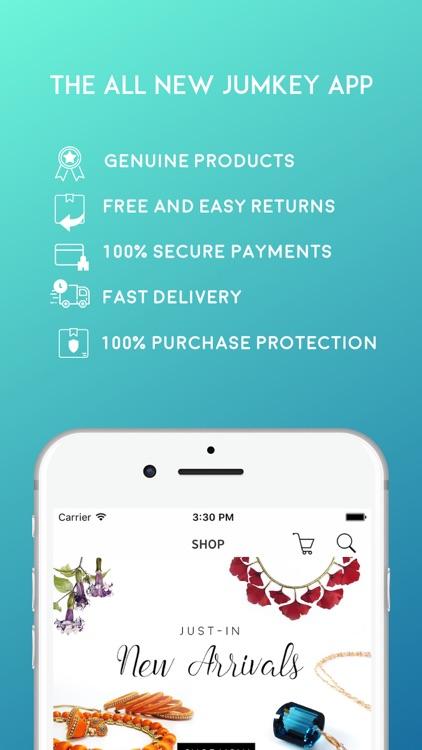 Jumkey - Jewelry Shopping App