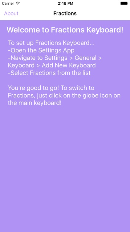 Fractions Keyboard screenshot-4