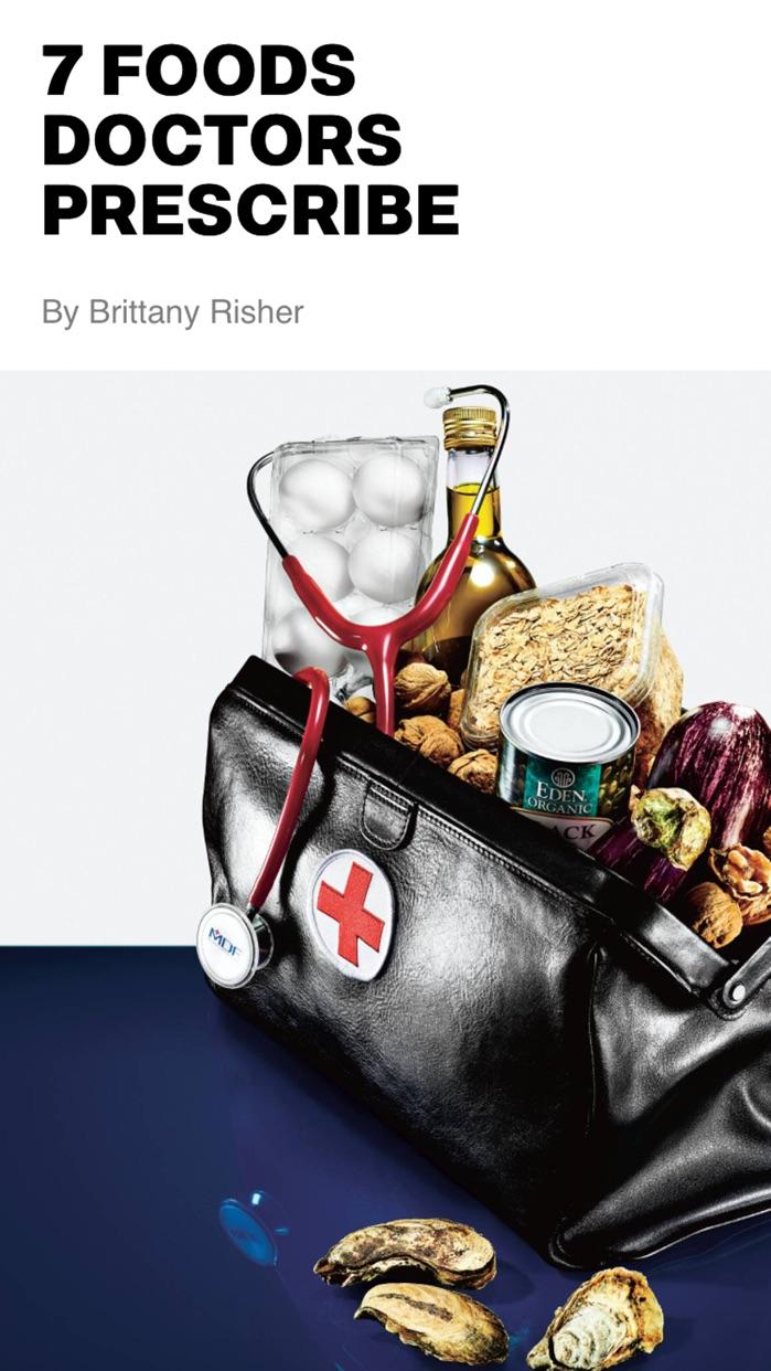 Men's Health Magazine Screenshot