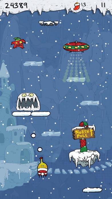 Doodle Jump Christmas Special Screenshot