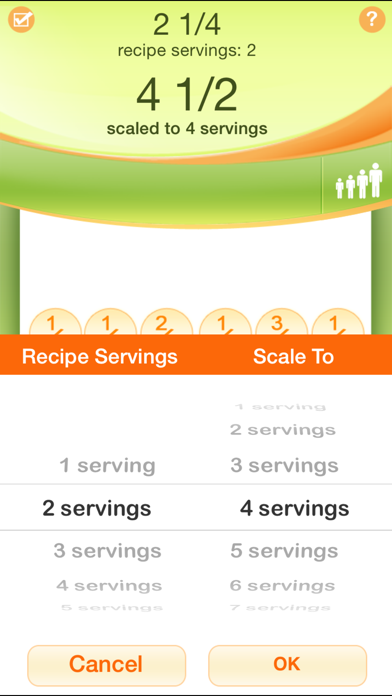 Kitchen Calculator Pro review screenshots