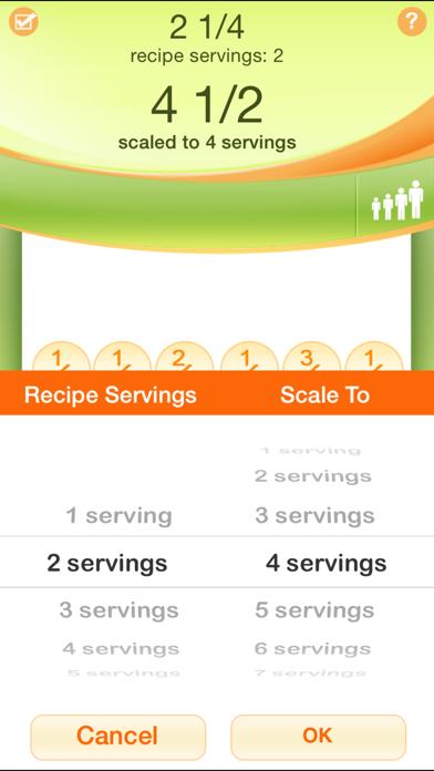 Kitchen Calculator PRO Screenshot