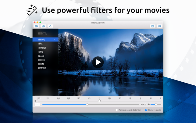 Video Acceleration: Slow Mo on the Mac App Store