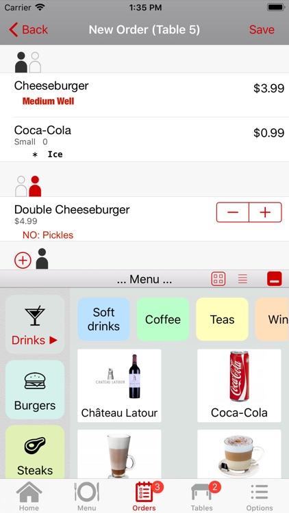 Restaurant POS System - Waiter screenshot-4