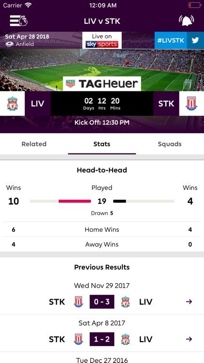 Premier League - Official App screenshot-3