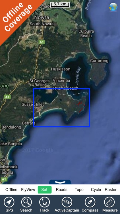 Jervis Bay National Park GPS map with guide screenshot-4