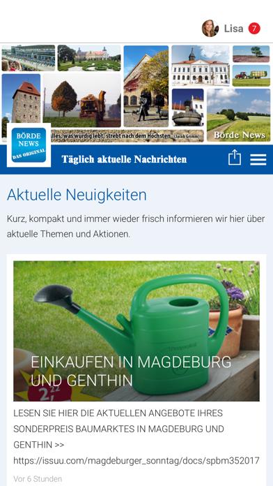 Börde News screenshot one