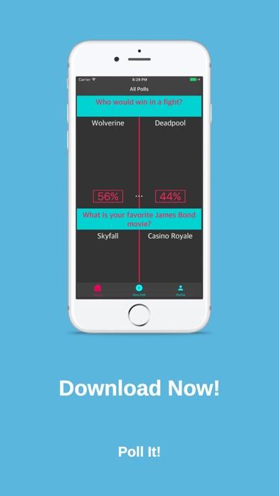 Poll It! Screenshot on iOS