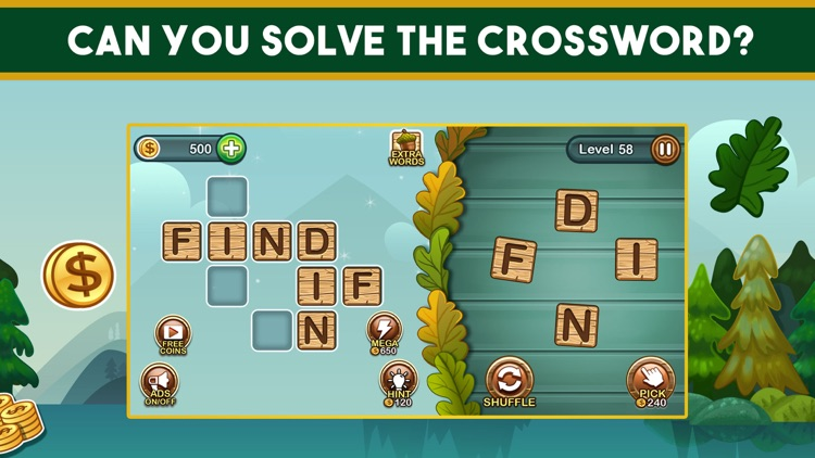 Word Nut: Crossword Word Games screenshot-4