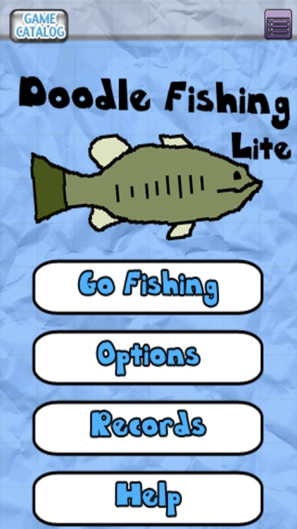 Doodle Fishing Lite screenshot-0