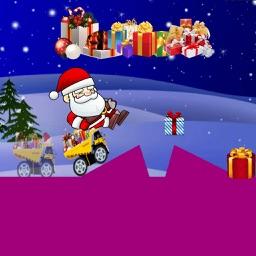 Christmas:Santa Racing Car