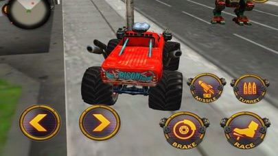Robot Battle Car: CITY WAR screenshot three