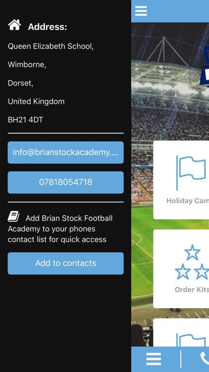 Brian Stock Football Academy