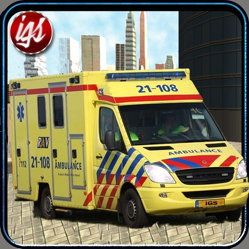 Ambulance Simulator 3D : City Emergency Rescue Driving iOS App