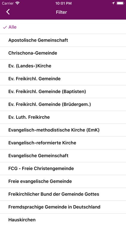 ERF Kirchenfinder screenshot-3