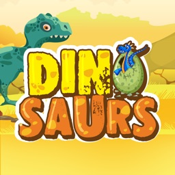 Dinosaur & Text Sticker Emojis