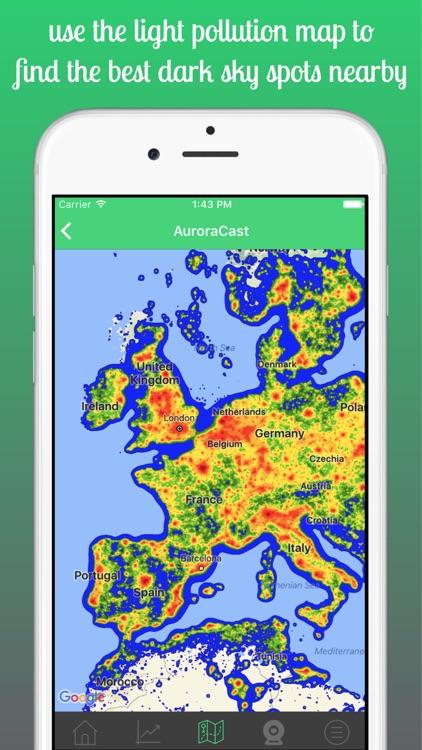 AuroraCast - Aurora Forecast screenshot-5