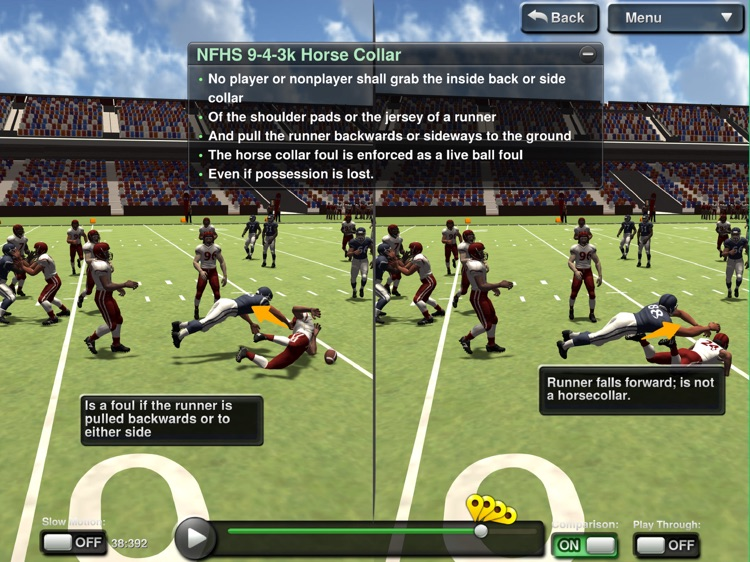 Get It Right Football NFHS DLX screenshot-3