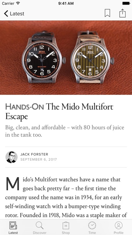 HODINKEE screenshot-1